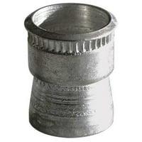 AVK Rivet Nut,Knurled,Cadmium Plating,PK10 ATA2-580