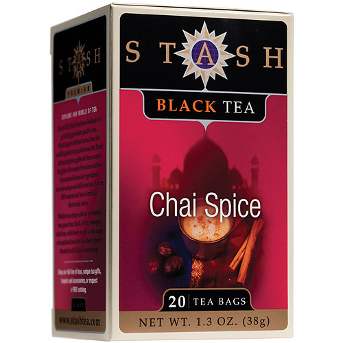 Stash Premium Chai Spice Black Tea Bags, 20 ct