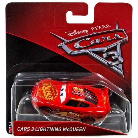 Disney Cars Cars 3 Lightning McQueen Diecast Car [Checkout - Disney Cars Lightning Mcqueen