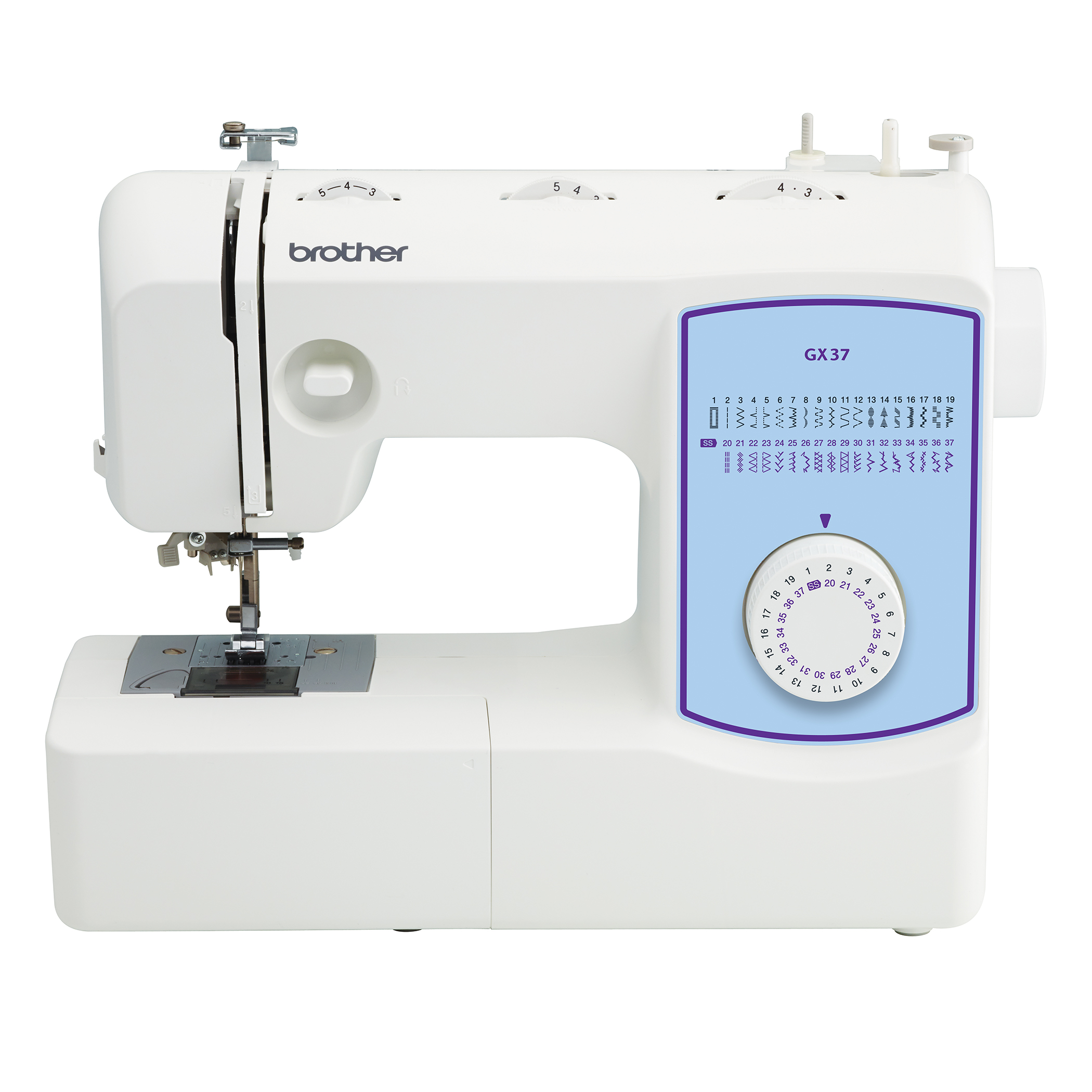 Brother Gx37 Lightweight Full Featured Sewing Machine With 37 Built