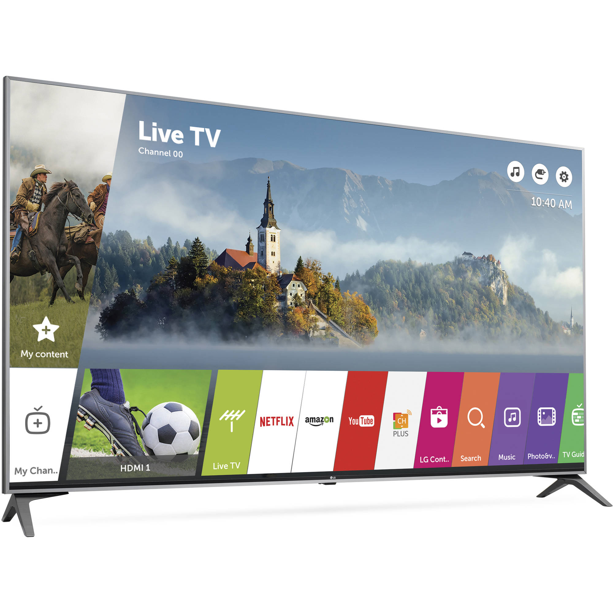 "LG 60"" 4K (2160P) Ultra HD Smart LED TV (60UJ7700)"