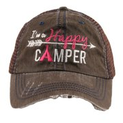 Katydid Happy Camper Women's Trucker Hat
