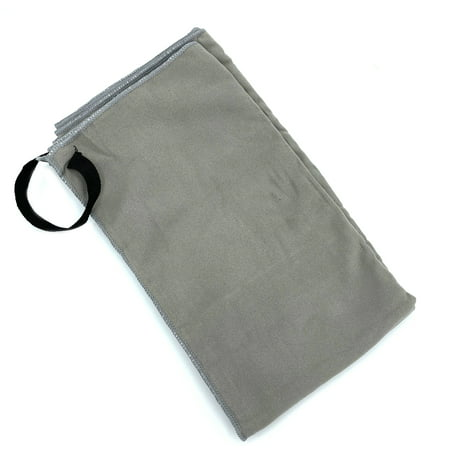 Ozark Trail Quick Dry Camping Towel, 25in x 54in, Gray