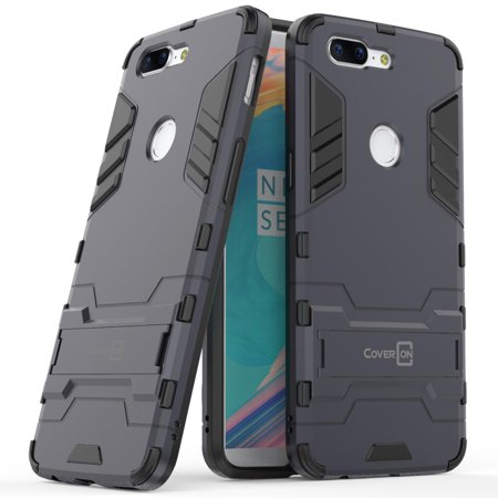 CoverON OnePlus 5T Case, Shadow Armor Series Hybrid Kickstand Phone Cover