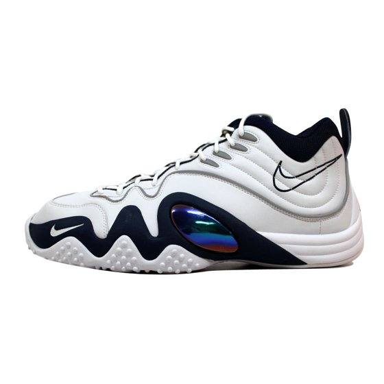 a46eaa4201bb Nike - Nike Men s Air Zoom Flight Five B Jason Kidd White Midnight ...