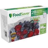 FoodSaver 28 Pint-sized Bags with Unique Multi Layer Construction