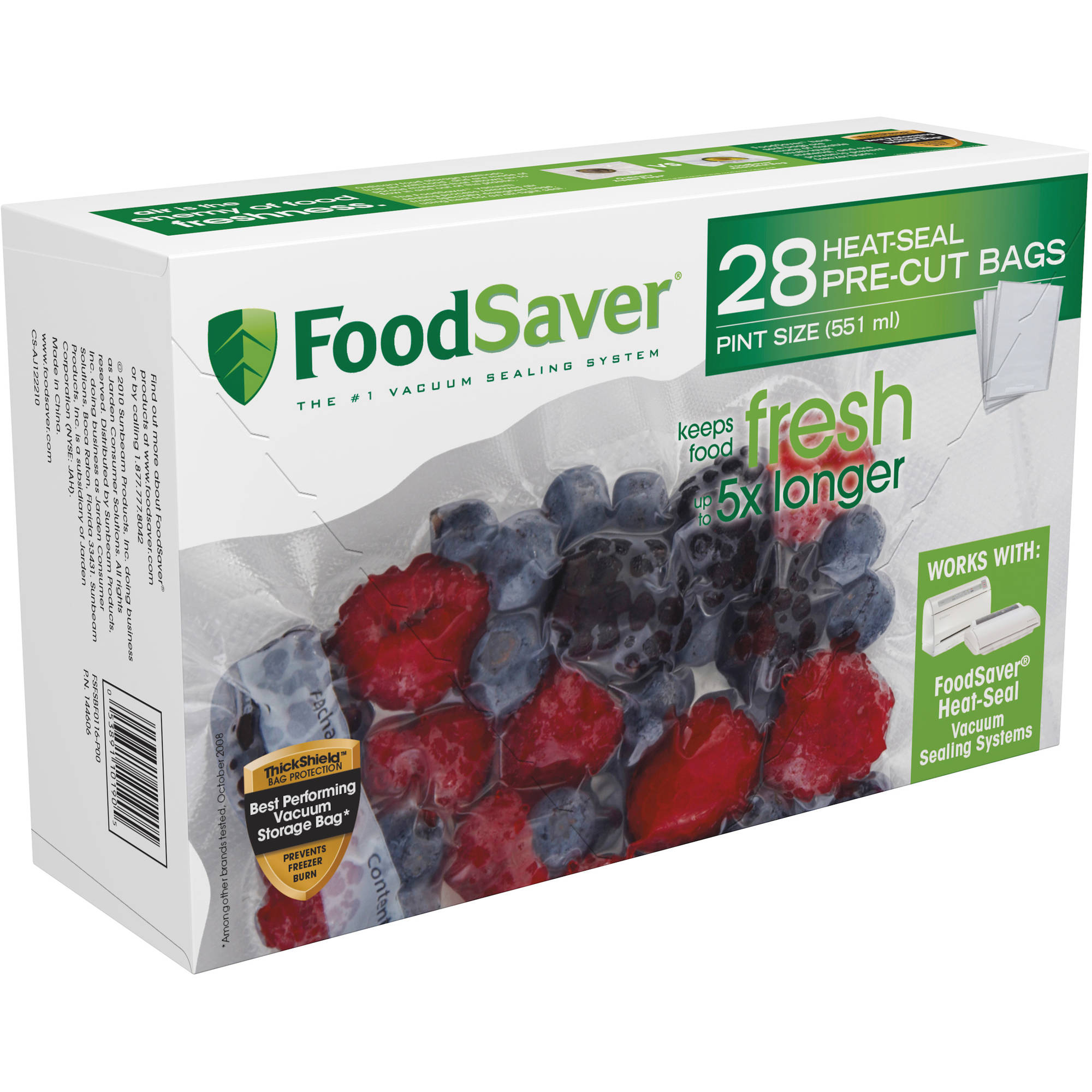 FoodSaver Pint-Size Heat-Seal Bags