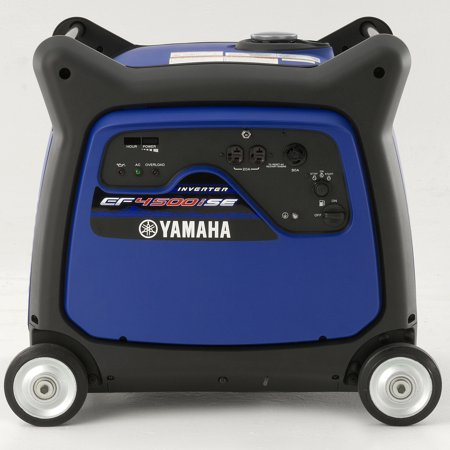 yamaha ef4500ise 4,500 watt electric start gas power portable inverter (Honda Generator 500 Watt Price In India)