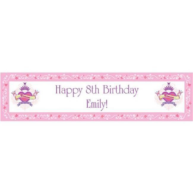 Costume Supercenter BB016740 Her Royal Highness Personalized Banner
