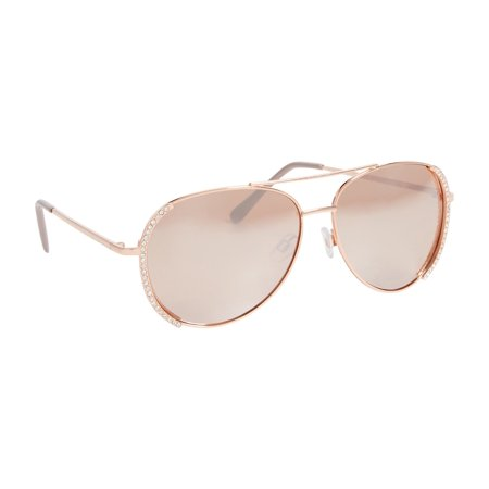 d1f93d261d21 maurices - Aviator Sunglasses With Rhinestone Trim - Walmart.com