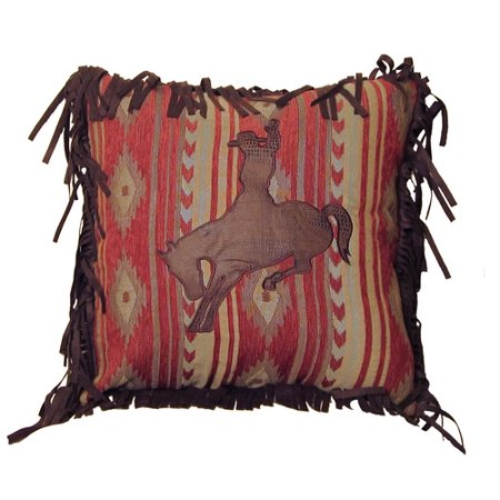 Carstens Inc. Flying Horse Throw Pillow