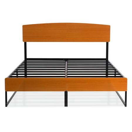 Granrest Metal Platform Bed Headboard Footboard