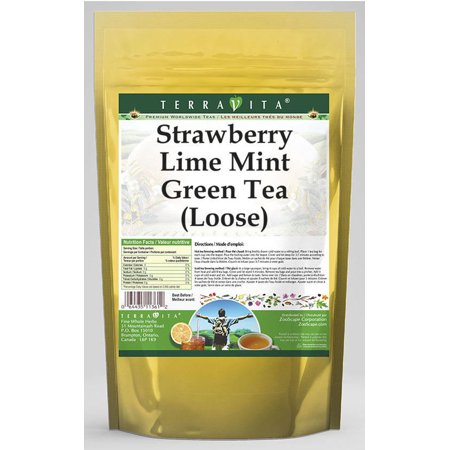 Strawberry Lime Mint Green Tea (Loose) (4 oz, ZIN: 542091)