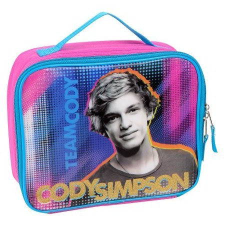 Cody Simpson Team Cody Insulated Lunch Tote   Pink And Blue