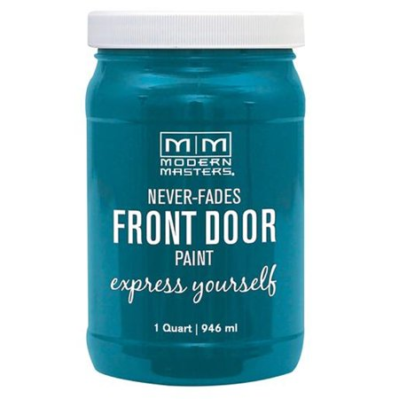 Modern Masters 296681 Front Door Paint TRANQUIL qt