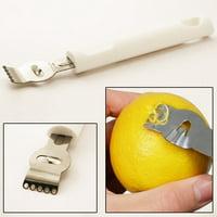 Lemon Zester Citrus Grater Stainless Steel Lime Zest Tool Artisan Fine Chef New