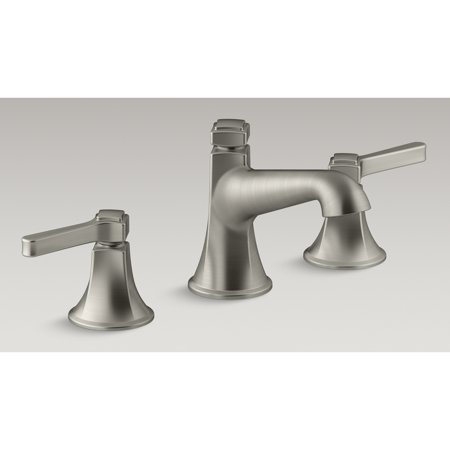"""Kohler R99911-4D1-BN 8"""" - 16"""" Vibrant Brushed Nickel Georgeson Two Handle Widespread Lavatory Faucet"""