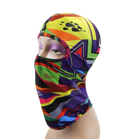 Outdoor Sports Cycling Balaclava Full Face Mask Neck Cover Protective Hood #2