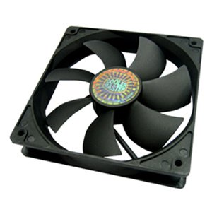 Cooler Master Silent Fan 120 S12 120mm Cooling Fan, 4-in-1 Value