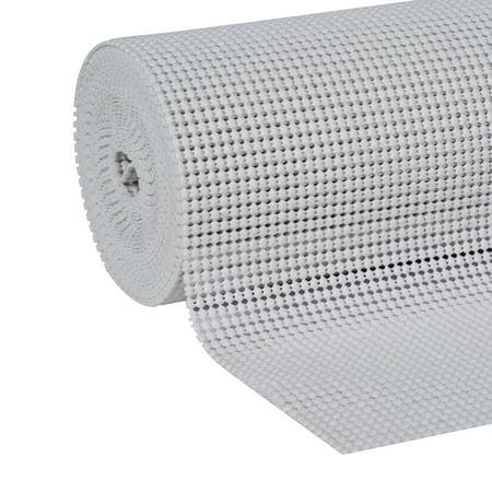 EasyLiner Select Grip Shelf Liner, White, 12 In. x 20 Ft.