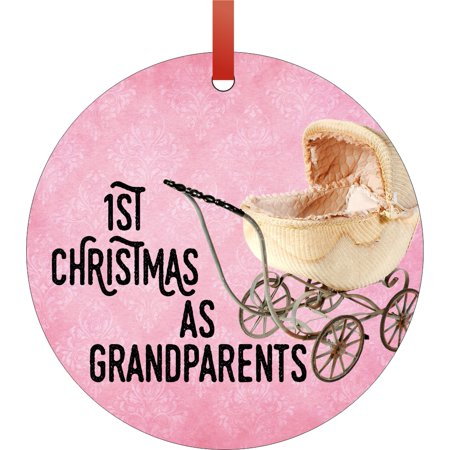 First Year as Grandparents Christmas Ornament - 1st Time Grandparents Christmas Ornament Christmas Décor Hanging Christmas Ornaments ()