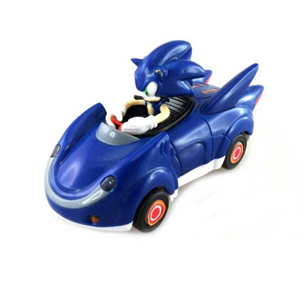 Sonic And Sega All Stars Racing Pull Back Car Sonic The Hedgehog Official Sonic Product By Nkok Walmart Com Walmart Com