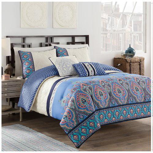 Design Studio Malia 5 Piece Reversible Comforter Set