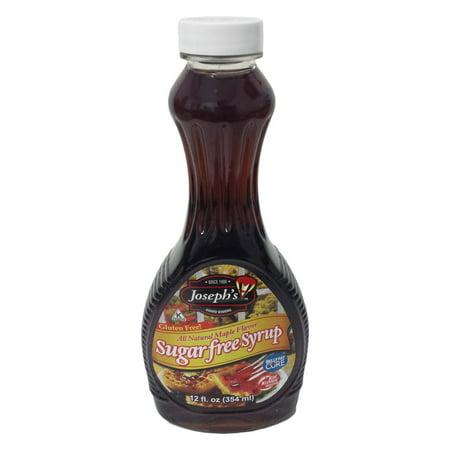 (3 Pack) Joseph's Sugar-Free Maple Syrup, 12 Oz