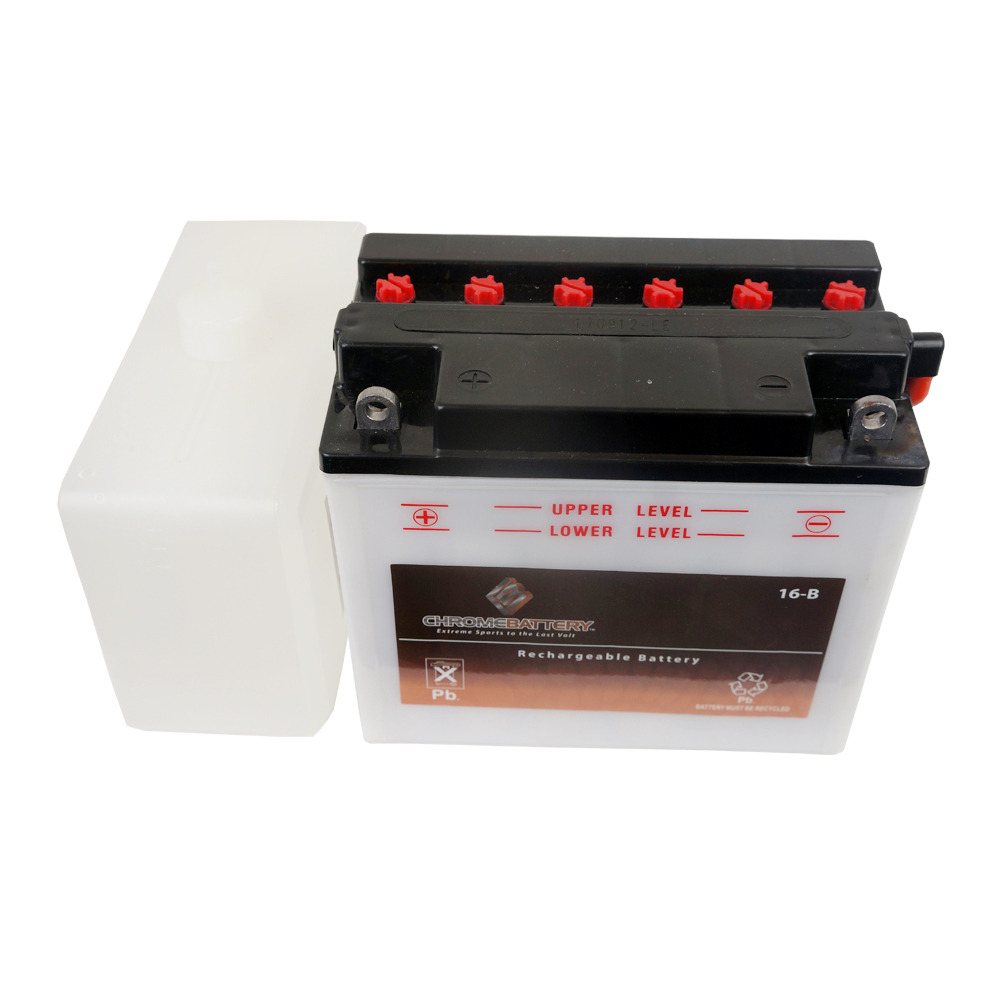 YB16-B Conventional Motorcycle Battery for 1989 Harley-Davidson Softail Heritage