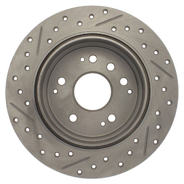 Rides2Racers Select Sport Drilled/Slotted Rotor 2004-2008