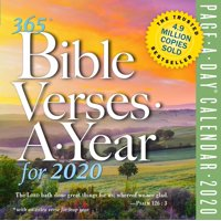365 Bible Verses-A-Year Page-A-Day Calendar 2020 (Other)