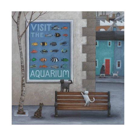 Visit the Aquarium Print Wall Art By Peter Adderley