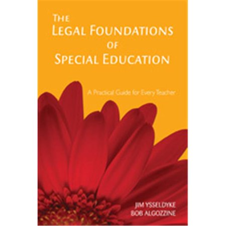 The Legal Foundations Of Special Education A Practical Guide For Every Teacher, Paperback - image 1 of 1