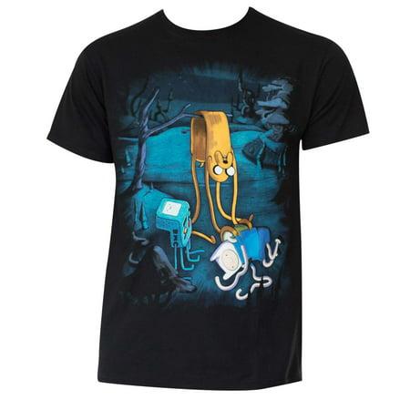 Men's Cotton Adventure Time Melting T-Shirt](Adventure Time Onesie)