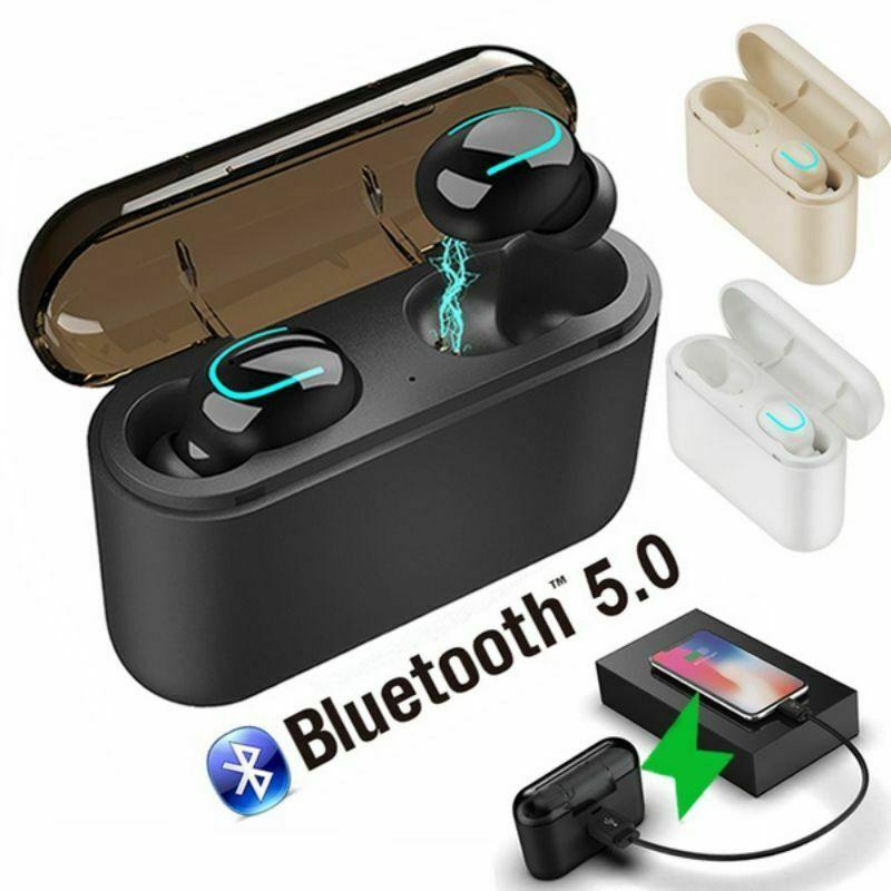 HBQ-Q32 Auto-pairing Wireless Bluetooth 5.0 Earbuds TWS Headset Stereo Headphone