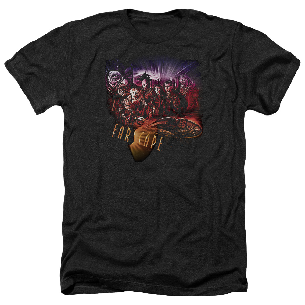 Farscape Graphic Collage Mens Heather Shirt