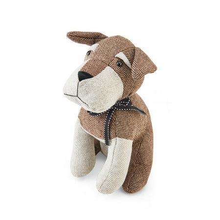 Elements Polyester Brown Dog Door Stopper, 10 (Brown Element)