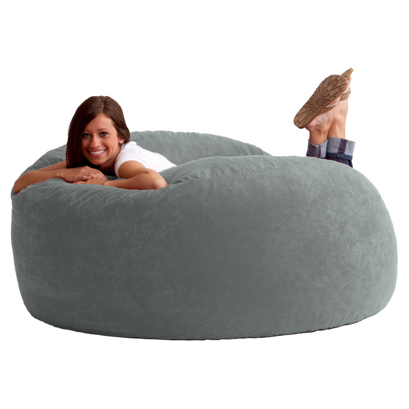 Tremendous Big Joe King 5 Fuf Bean Bag Chair Multiple Colors Fabrics Ncnpc Chair Design For Home Ncnpcorg