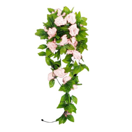 Holiday Clearance Artificial Rose Vines Bouquet Garden Wedding Decoration