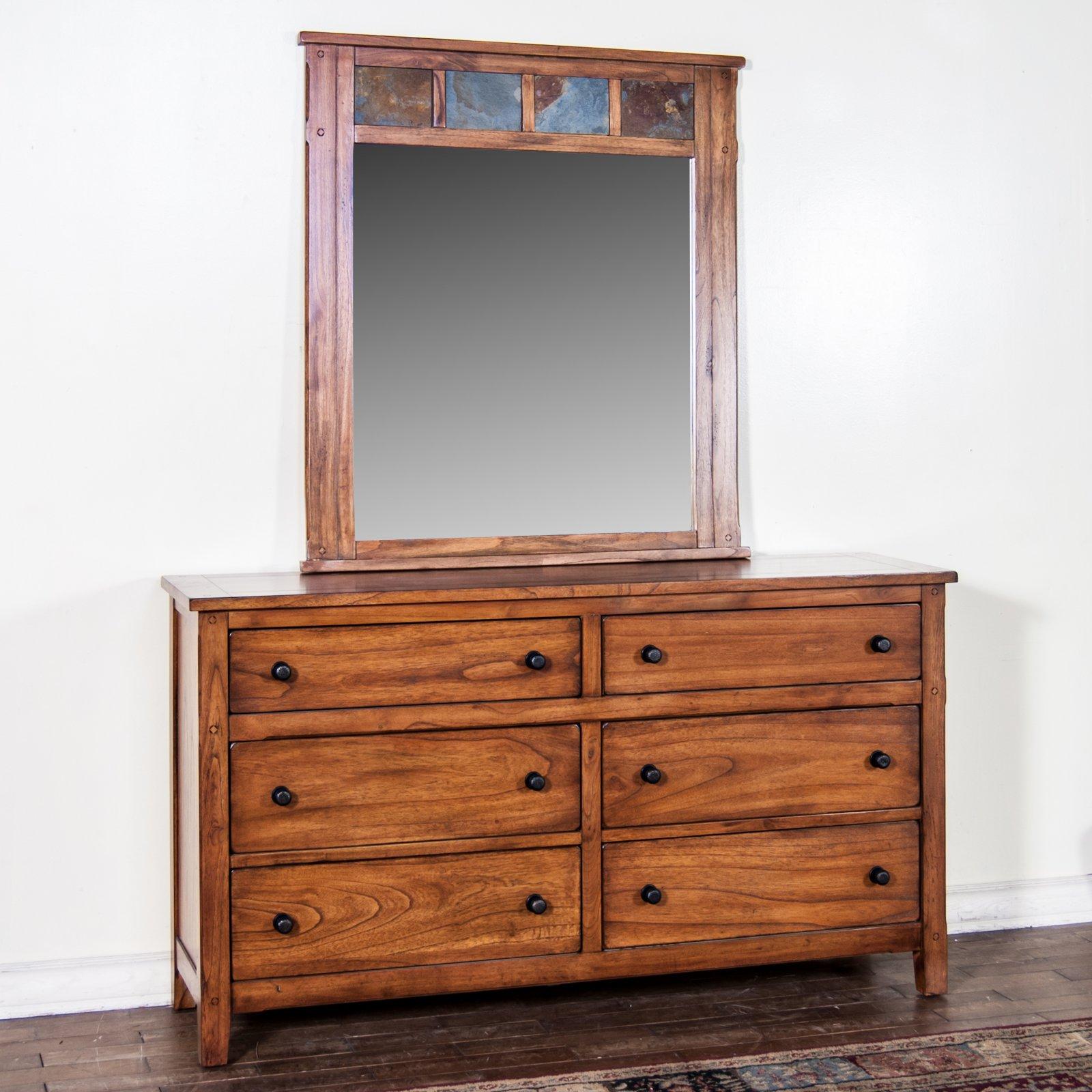 Sunny Designs Sedona 6 Drawer Dresser