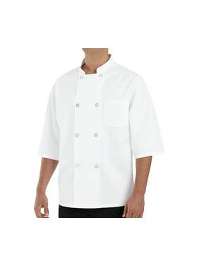 Men's ½ Sleeve Chef Coat