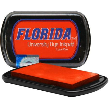 Stamped Alligator (Florida Gators Colorbox Dye Inkpad - Orange - No Size )