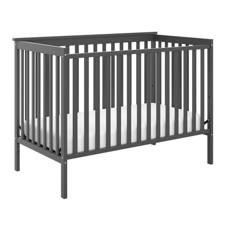 Storkcraft Sheffield Ii 4 In 1 Convertible Crib Gray