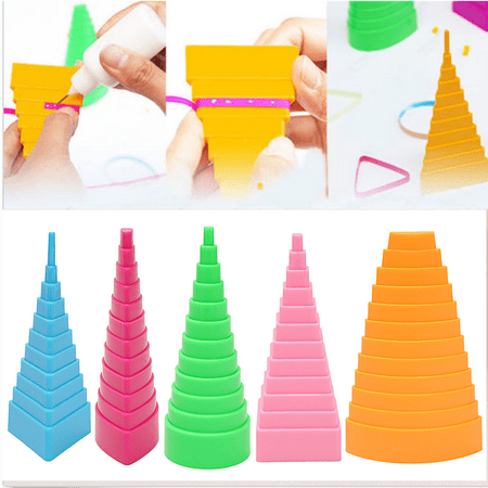 5Pcs Paper Quilling Border Buddy Bobbin Tower Quilled Creation Craft DIY Tools - Creation Crafts
