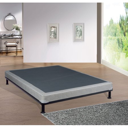 Continental Sleep, 4-Inch Metal Box Spring/Foundation For Mattress, Good For Back, No Assembly Required, Twin (Valcom Metal Back Box)