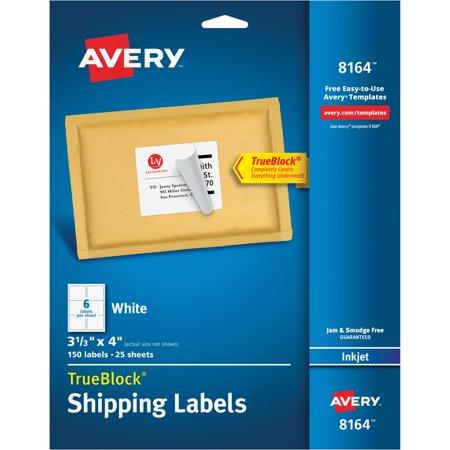 Averyr Weatherprooftm Mailing Labels With Trueblockr
