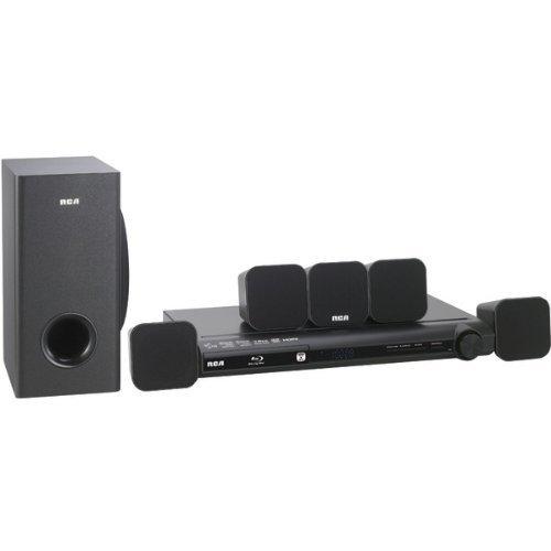 RCA RTB1016WE 300-Watt Blu-ray(TM) Home Theater System with Wi-Fi