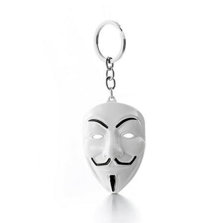 V for Vendetta Guy Fawkes Mask Keychain US Seller (Fawke Mask)