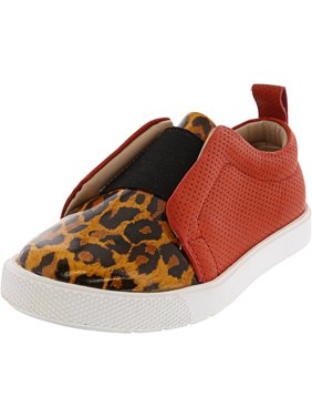 0dfa56f2ad Product Image Elephantito Indie Slip-On Leopard Ankle-High Fashion Sneaker  - 8M