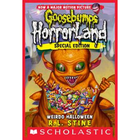 Weirdo Halloween (Goosebumps Horrorland #16) - eBook - Goosebumps 2000 Headless Halloween